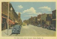 Pitt Street looking North, Cornwall, Ontario