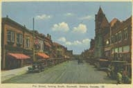 Pitt Street looking South, Cornwall, Ontario