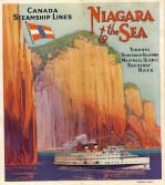 Niagara to the sea brochure from the Canada Steamship Lines, 1933