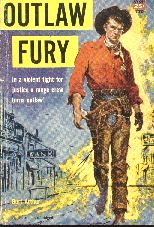 Outlaw Fury.  Book cover, 1952.
