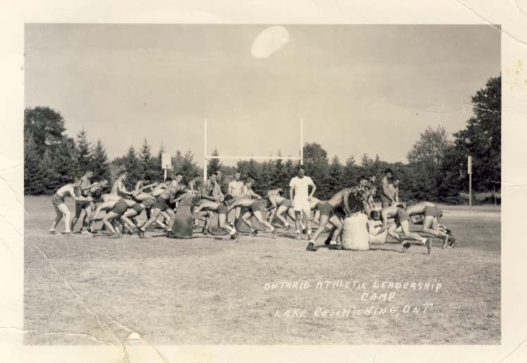 Ontario Athletic Leadership Camp, Lake Couchiching, Ont. photograph
