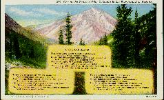 Colorado poem postcard 1916