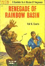 Renegade of Rainbow Basin.  Book cover, 1953.