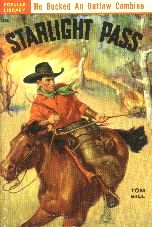 Starlight Pass.  Book cover, 1951.