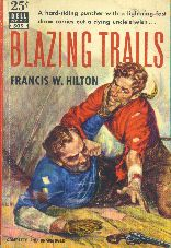 Blazing Trails.  Book cover, 1951.