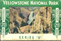 Yellowstone National Park: 20 Colored Miniatures, 1949.