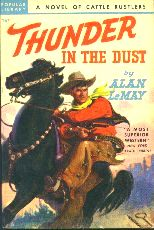 Thunder in the Dust.  Book cover, 1948.