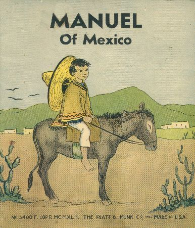 Manuel of Mexico. Book cover, 1942.
