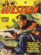 New  Western Magazine cover, 1947.