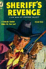 Sheriff's Revenge,  book cover, 1949.