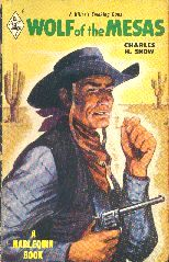 Wolf of the Mesas.  Book cover, 1949.