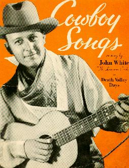 Cowboy songs by John White