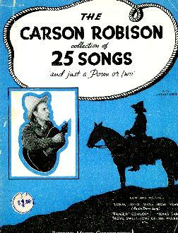 Carson Robison collection of 25 Songs, 1936