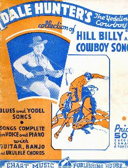 Dale Hunter's cowboy songs, 1934