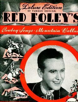 Red Foley's cowboy songs, 1940