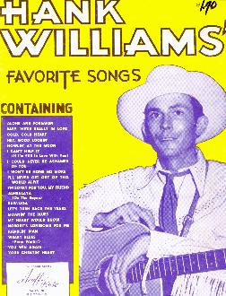 Hank Williams' songs, 1953