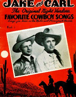 Jake and Carl songs, 1939