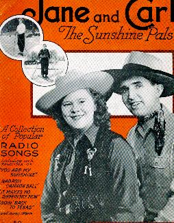 Jane and Carl songs, 1941