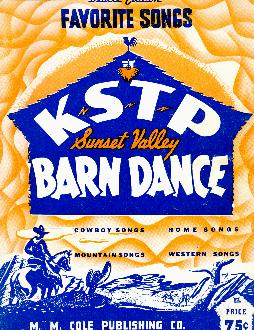 KSTP Sunset Valley barn dance, 1943
