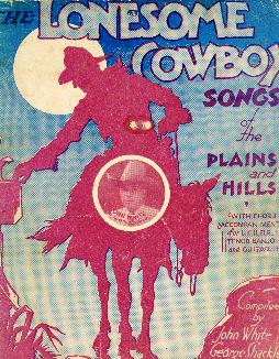 Lonesome cowboy songs, 1930