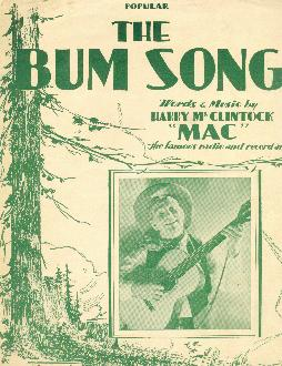 The bum song, 1928