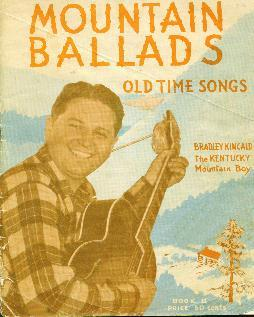 My favorite mountain ballads, 1940