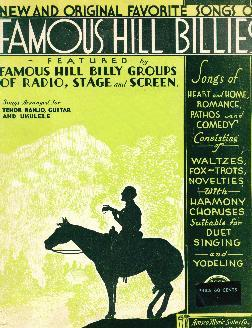 Songs of famous hill billies, 1934