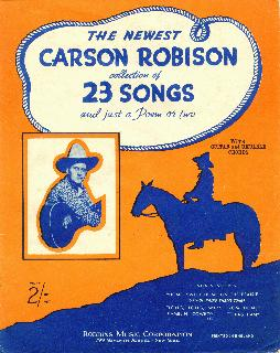 Newest Carson Robison collection, 1932