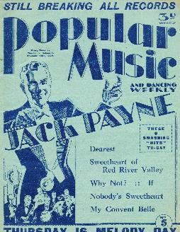 Popular music and dancing weekly, 1934