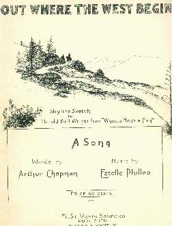 Out where the west begins, 1917