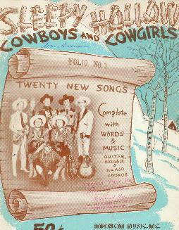 Sleepy Hollow Cowboys and Cowgirls, 1937
