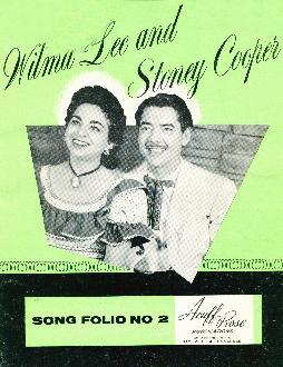 Wilma Lee and Stoney Cooper song folio, 1959