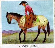 Cowboy stamps,  1957