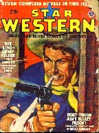 Star Western magazine cover, 1947.