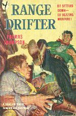 Range Drifter.  Book cover, 1950.
