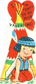 I - 'in tent' to be your valentine! 1950s