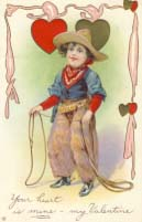 Your heart is mine - my Valentine, 1912.